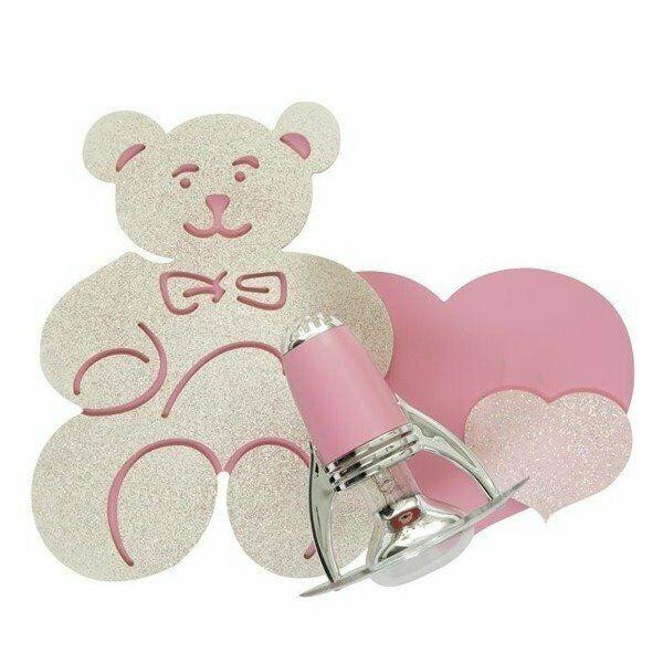 Różowy kinkiet dziecięcy HONEY I Nowodvorski 3656