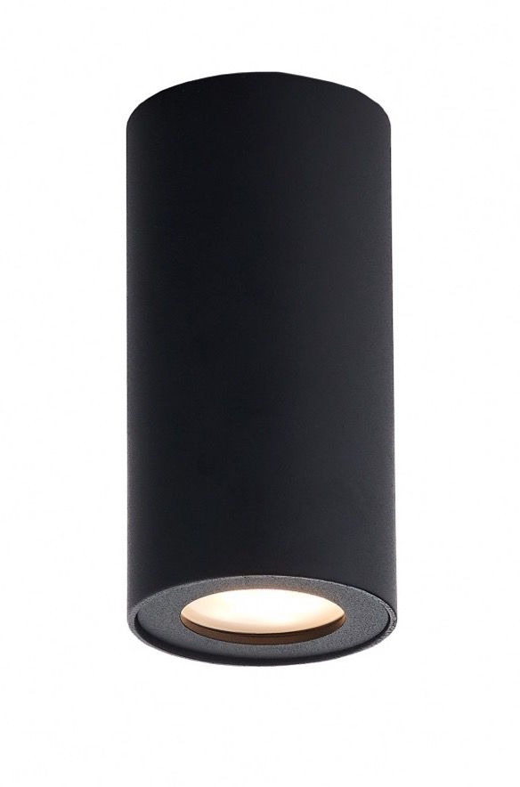 Lampa sufitowa Barlo 13 70026102 oprawa czarna tuba Kaspa
