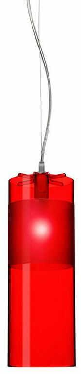 Easy czerwony - Kartell - lampa wisząca
