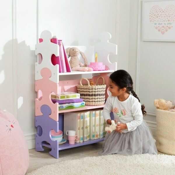 Regał Pastelowa fantazyjna układanka 14415-KidKraft, meble dla dzieci