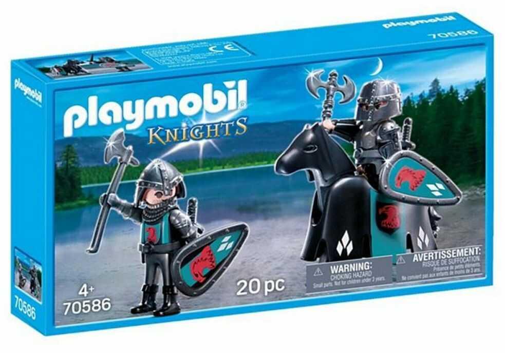 Klocki Playmobil 70586 Knights Rycerze z koniem