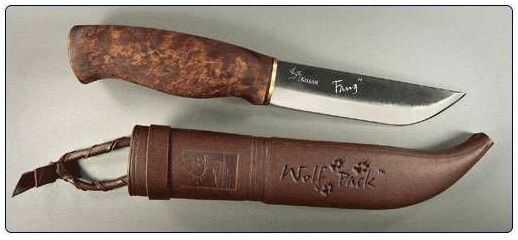 Nóż Kellam Knives Fang - Wolf Pack