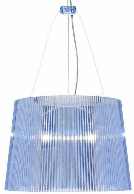Gé niebieski - Kartell - lampa wisząca