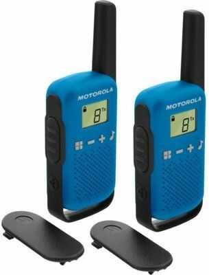 Radiotelefon PMR MOTOROLA T42 Talkabount Niebieski>>Teraz w zestawie do 70% TANIEJ. Sprawdź!
