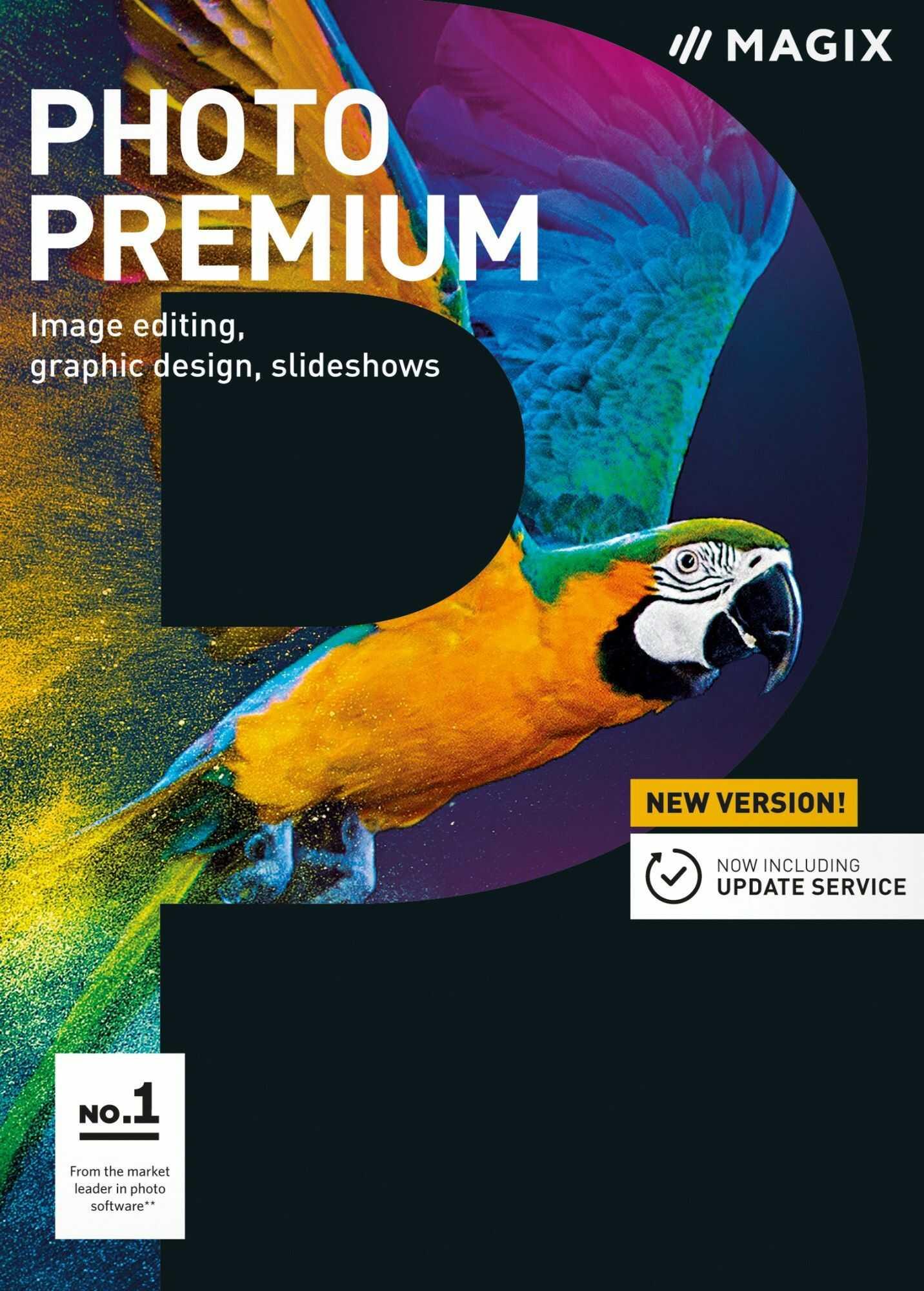 MAGIX Photo Premium - ESD (Photostory Deluxe + Photo & Graphic Designer) - Edu - Certyfikaty Rzetelna Firma i Adobe Gold Reseller