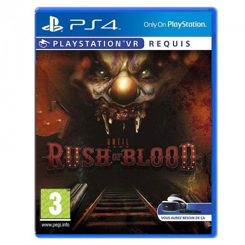 Until Dawn Rush of Blood PS 4