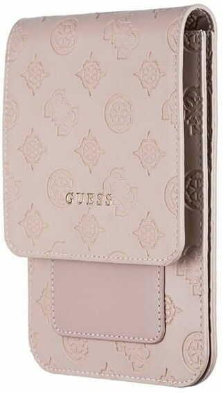 Guess Torebka GUWBPELLP jasnoróżowa /light pink 4G Peony Wallet Bag