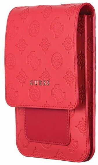 Guess Torebka GUWBPELRE czerwona/red 4G Peony Wallet Bag