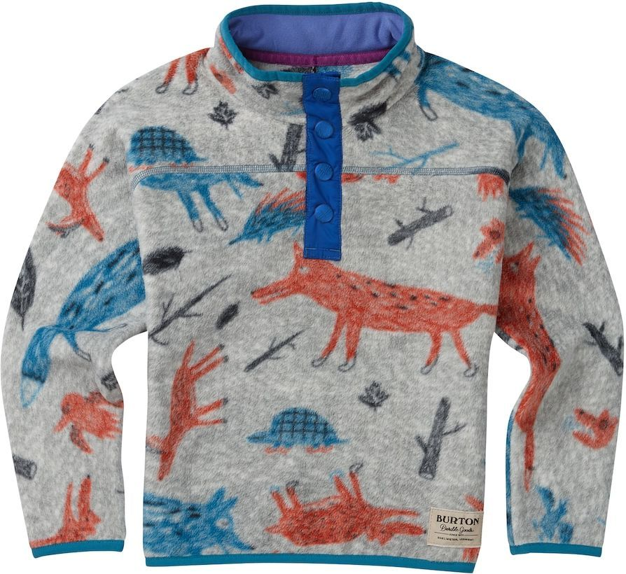 bluza dziecięca BURTON MINISHRED SPARK FLEECE PO BIG BAD WOLF