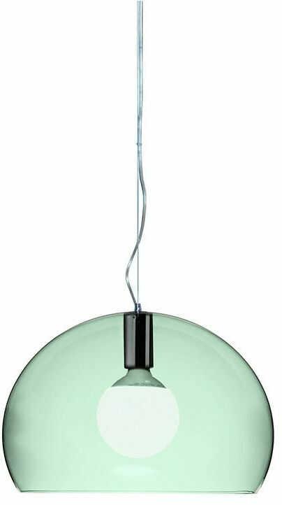 Small FL/Y zielony - Kartell - lampa wisząca