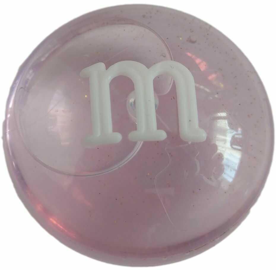 1 Kiddy masa glut M&m Crystal Mud jasny róż