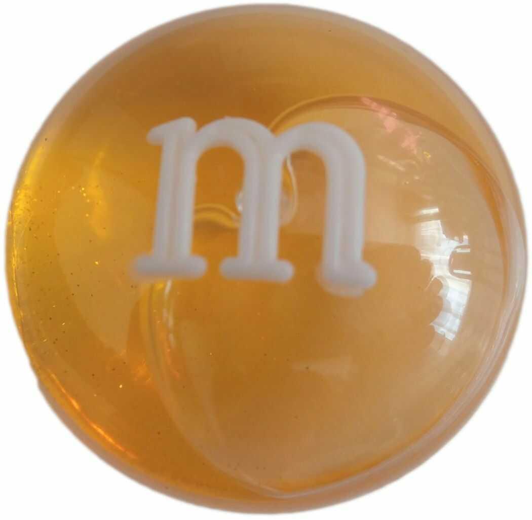 1 Kiddy masa glut M&m Crystal Mud pomarańczowy