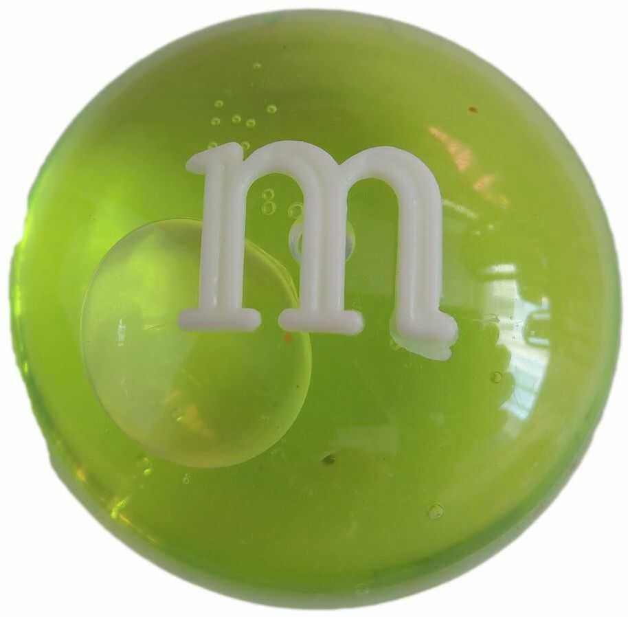 1 Kiddy masa glut M&m Crystal Mud zielony