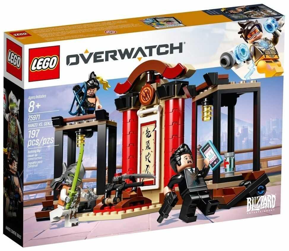 Klocki Lego 75971 Overwatch Hanzo vs Genji