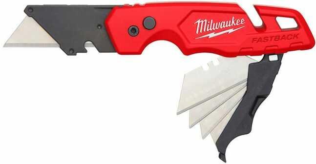 Nóż Fastback z przechowywanym ostrzem Milwaukee 4932471358