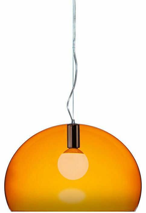 FL/Y pomarańczowy - Kartell - lampa wisząca