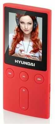 Odtwarzacz mp3 HYUNDAI MPC501GB4FMR 4GB Czerwony DARMOWY TRANSPORT!