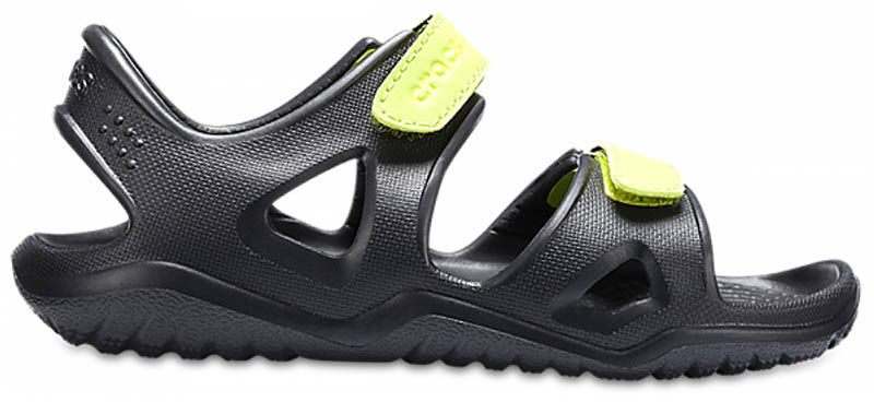 Sandały dziecięce Crocs Swiftwater River czarne 20498809W
