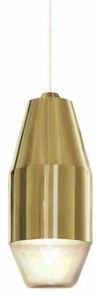 Yuma złoty - Kundalini - lampa wisząca