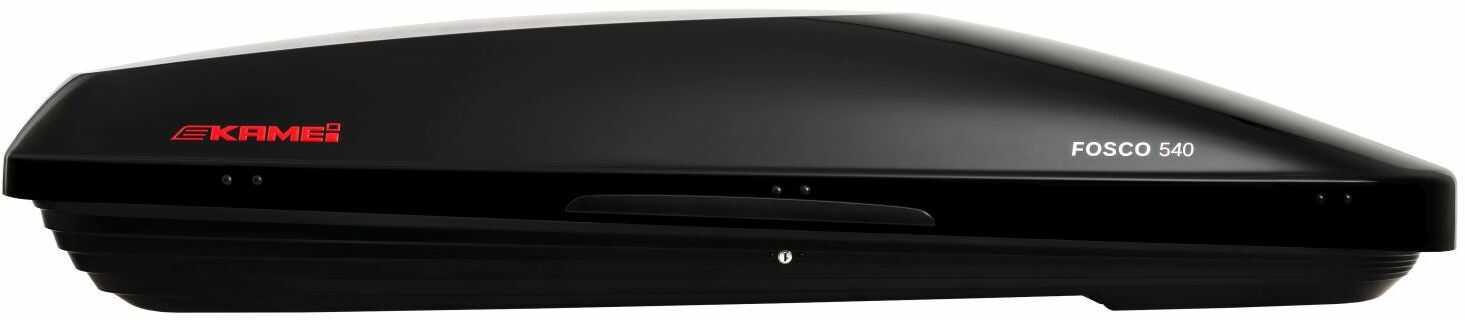Kamei Fosco 540 box dachowy Czarny połysk