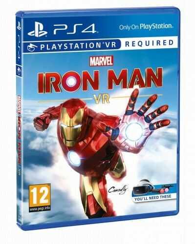 Marvel''s Iron Man VR PS 4 Używana