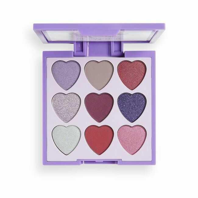 Makeup Revolution Heart Breakers paleta cieni do powiek Mystical