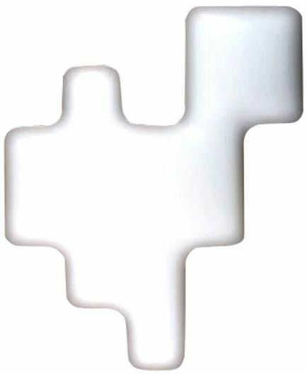 Pixel biały - Kundalini - kinkiet