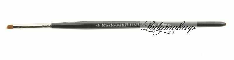 Kozłowski - Pędzel skośny do brwi - EB 507 Eyebrow Kolinsky - 4