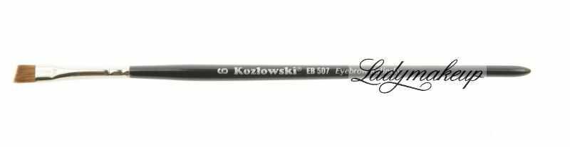 Kozłowski - Pędzel skośny do brwi - EB 507 Eyebrow Kolinsky - 6