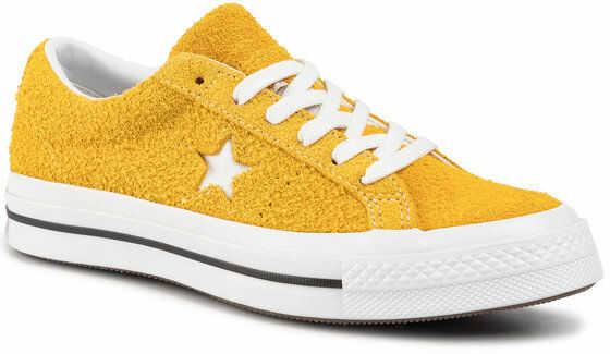 Converse Tenisówki One Star Ox 165033C Żółty