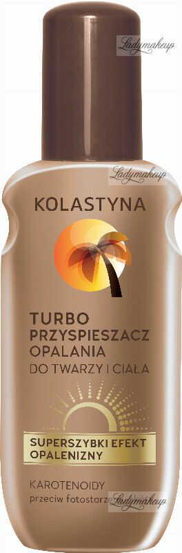 KOLASTYNA - Turbo przyspieszacz opalania do twarzy i ciała - 150 ml