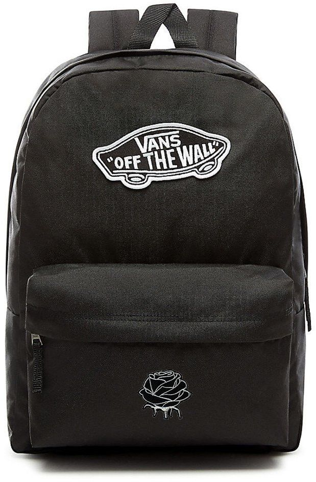 Plecak VANS Realm Backpack Custom Silver Rose róża - VN0A3UI6BLK