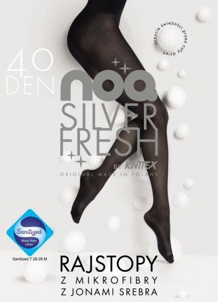Rajstopy knittex silver fresh 40 den
