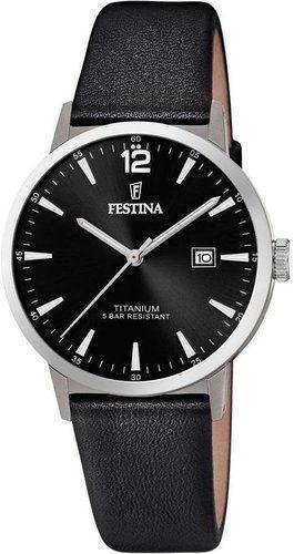 Festina Titanium Date F20471-3 - Kupuj tylko oryginalne produkty w autoryzowanym sklepie