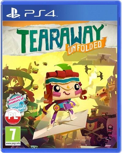 Tearaway Unfolded PS 4