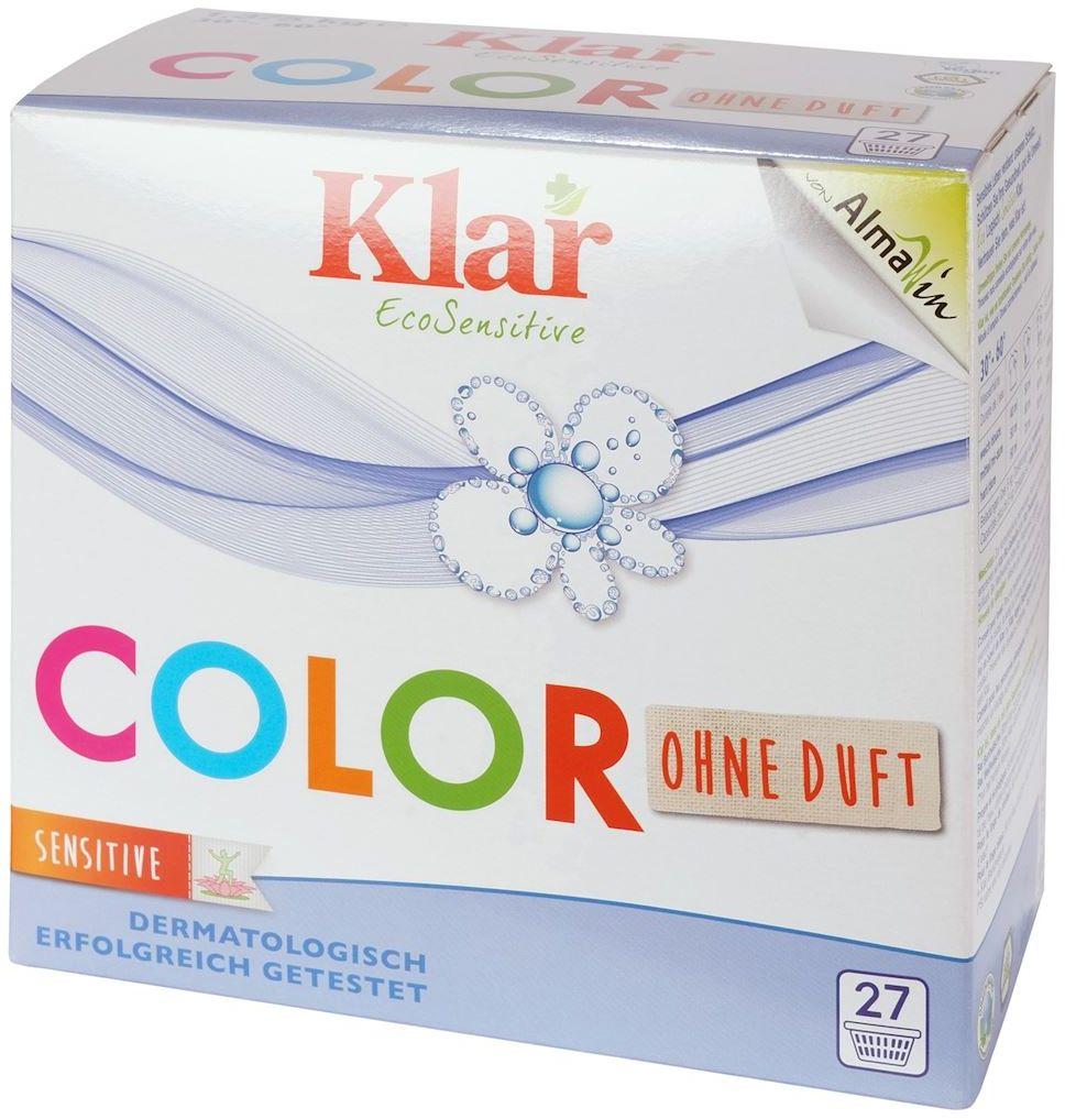 Proszek do prania kolor eco 1,375 kg - klar