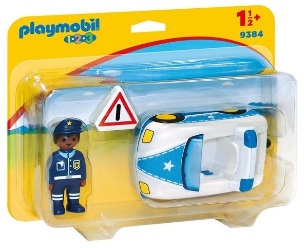 Playmobil - Samochód policyjny 9384