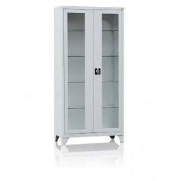 Szafa 2-drzwiowa, przeszklone drzwi MD/2