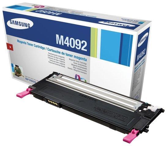 Wyprzedaż Oryginał Toner Samsung do CLP-31x, CLX-317x 1 000 str. magenta