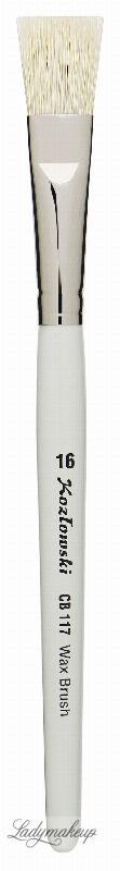 Kozłowski - Wax Brush CB 117 - Pędzel do masek - 16