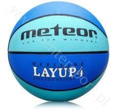Piłka do koszykówki meteor layup 4