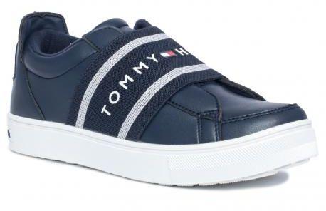 Tommy Hilfiger 0744800 półbuty trampki sneakers granat