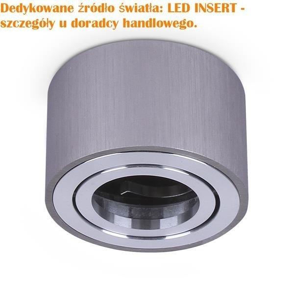Lampa natynkowa tuba OH36S CHROM wys 5cm