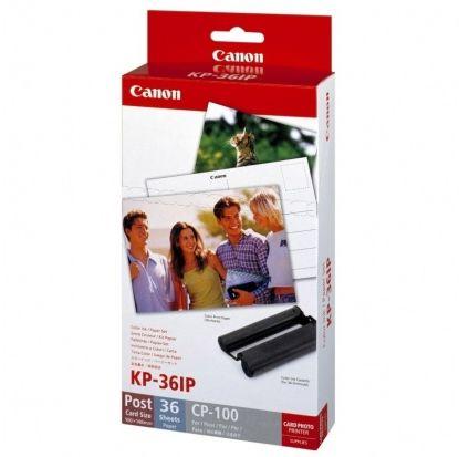 Zestaw (papier + wkład barwiący) CANON KP-36IP (148 x 100 mm) - 36 arkuszy (7737A001AH)