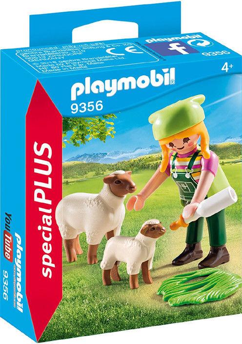 Playmobil - Farmerka z owieczkami 9356