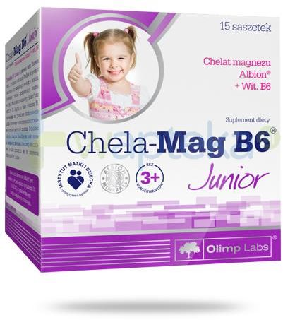 Olimp Chela-Mag B6 Junior 15 saszetek