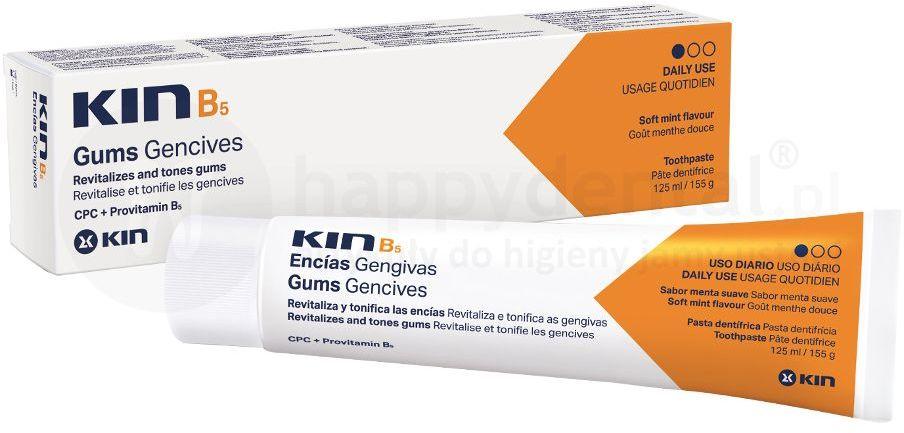 KIN B5 pasta do zębów poprawiająca kondycję dziąseł - 125ml