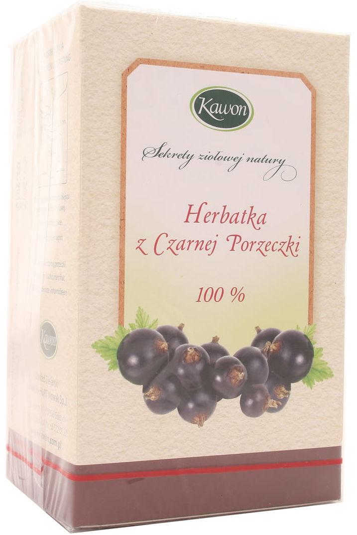 Herbata Czarna porzeczka - Kawon - 20 saszetek