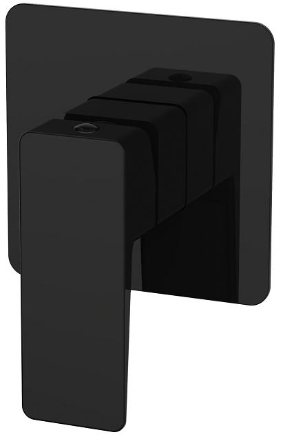 Omnires Parma bateria prysznicowa podtynkowa czarna PM7445BL