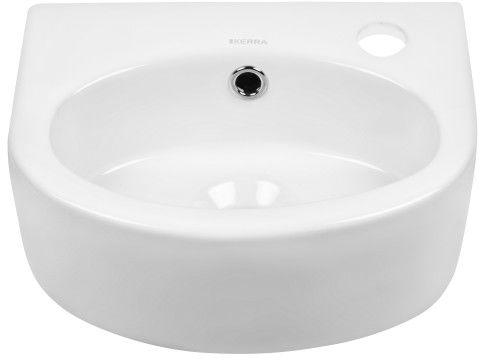 Mała umywalka ceramiczna 34x26x13 cm